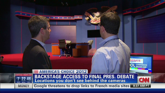exp Backstage access to final Presidential Debate_00002001