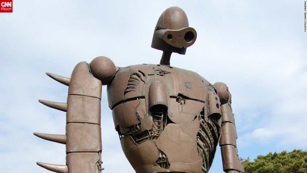 "A devoted fan of Ghibli films for 20 years, iReporter Daniel Fandino says he was extremely impressed that the <a href=""http://www.ghibli-museum.jp/en/"" target=""_blank"">Ghibli museum</a> could convey the same sense of wonder as the films to visitors. <a href=""http://ireport.cnn.com/docs/DOC-862003"" target=""_blank""><br />Check out more photos of the Ghibli museum iReport</a>."