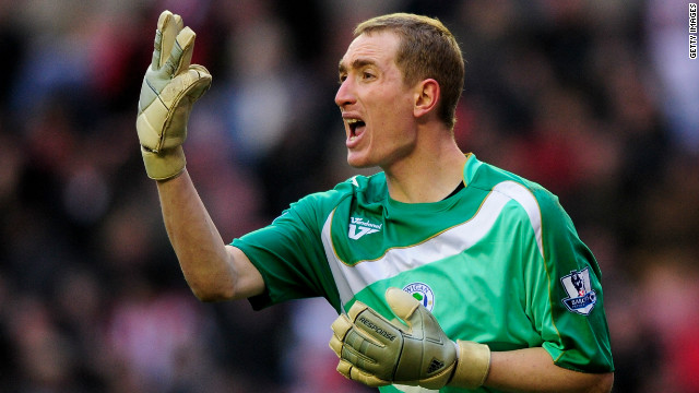 Sheffield Wednesday goalkeeper Chris Kirkland was attacked by a Leeds fan during a Championship match last week.