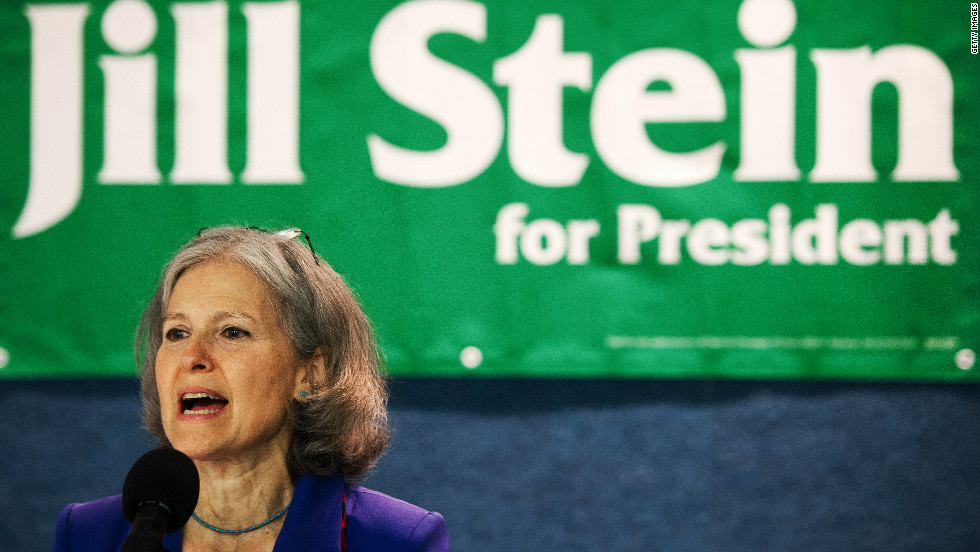 Green Party candidate Jill Stein: Economy is rigged