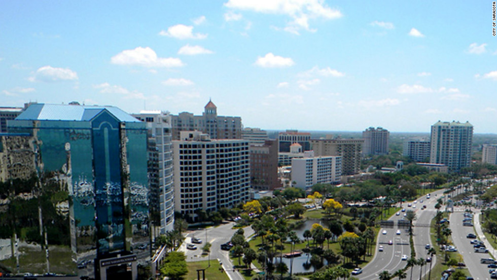 3. North Port/Bradenton/Sarasota, Florida