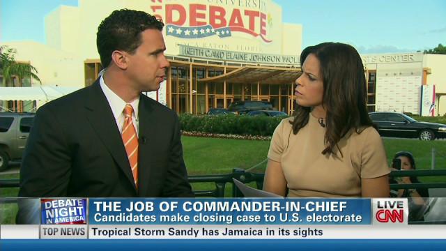 Burton: Obama had edge at the debate