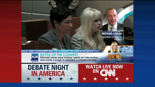 Michael Lohan: 'Team' backs intervention