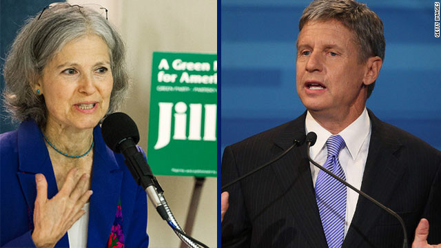 Jill Stein (Green Party) and Gary Johnson (Libertarian Party) will be among the presidential candidates debating tonight in Chicago.