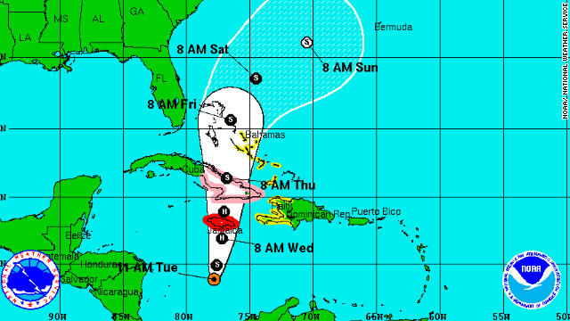 Jamaica, southern U.S. brace for Sandy