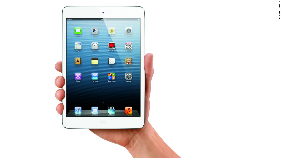 The iPad Mini sports a 7.9-inch inch screen, with a resolution of 1024 by 768 pixels, giving it the same screen resolution as the iPad 2, but in a more compact package.