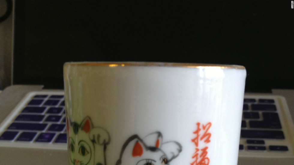 Sugru users are frequently finding new uses for the product and sending their ideas back to the company. Here, a cracked mug is held together by Sugru.
