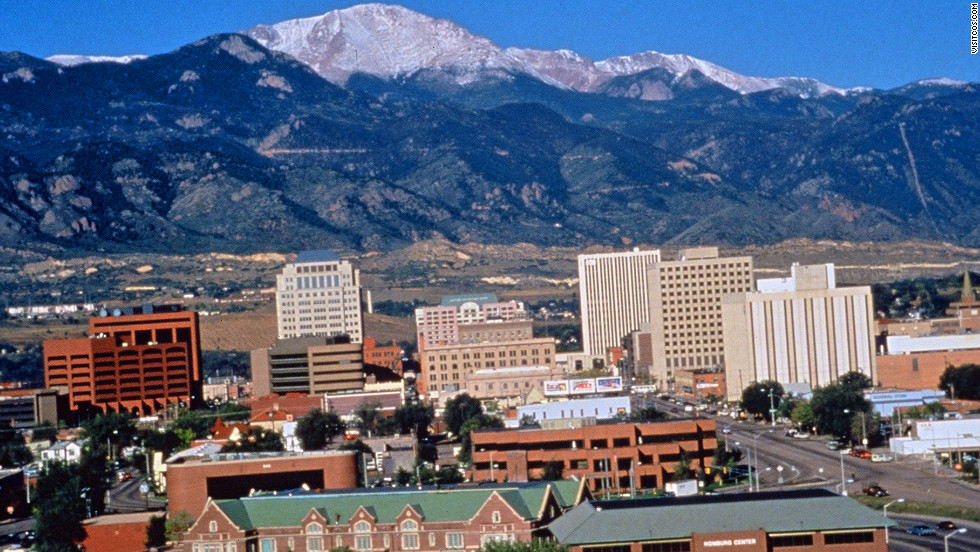 6. Colorado Springs, Colorado