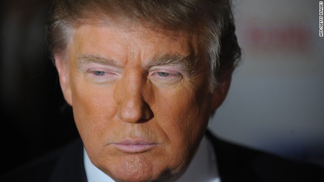 "Celebrity mogul Donald Trump says he is ""seriously"" considering a 2016 presidential bid."