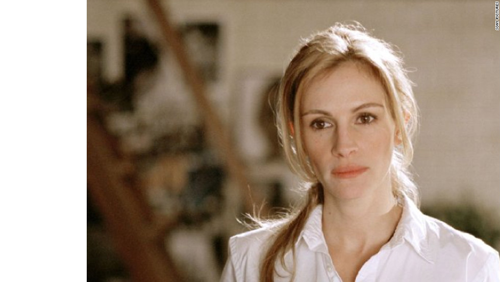 """In 2004's """"Closer,"""" which earned Natalie Portman and Clive Owen Oscar nominations, Roberts plays Anna, a two-timing photographer."""
