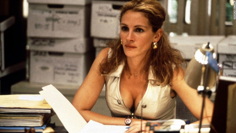 """Erin Brockovich"" earned Roberts an Academy Award for best actress. In the 2000 film, based on a true story, Roberts plays a single mother who takes a job as a legal clerk and ends up stumbling upon a huge case."