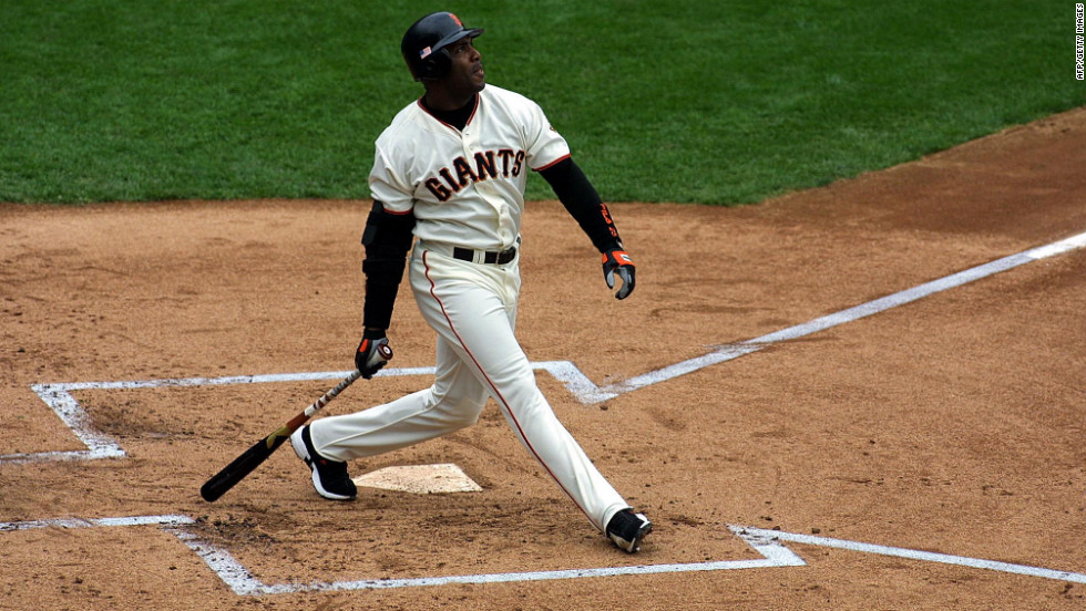 Barry Bonds is baseball's all-time home run leader, but some commentators say there should be an asterisk by his record. Though he's said he never knowingly used steroids, two San Francisco reporters wrote a book alleging he used performance-enhancing drugs. He was indicted on charges of perjury and obstructing justice for allegedly lying to a grand jury investigating steroids, and convicted of obstruction of justice.