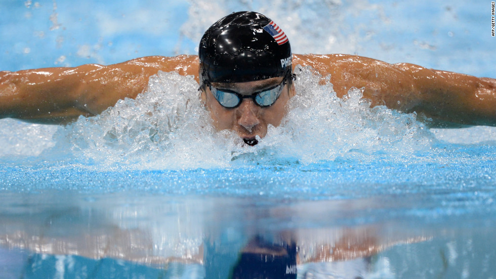 As the most decorated Olympian ever, with 22 medals, Michael Phelps is known as a fish in human's clothing, but for a brief period in 2009, after a photo of him smoking a bong was made public, he also was known as a pothead. Despite losing sponsors, he quickly became known for swimming again, securing six medals in the 2012 Games.