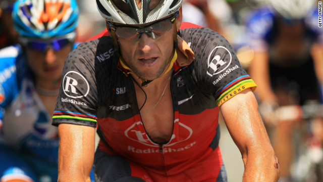 American cyclist Lance Armstrong was officially stripped of his seven Tour de France titles on Monday.