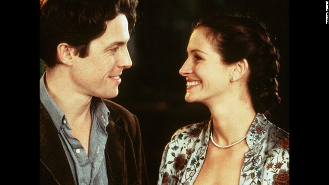 To bookstore owner William Thacker's surprise, he (Hugh Grant) meets superstar actress Anna Scott, played by Julia Roberts. They hit it off right away, but their relationship faces challenges due to her fame. IMDb rates the 1999 film at 7.0 stars. It can be streamed on Netflix.