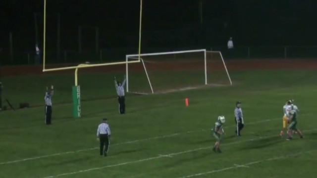Teen with autism is football hero