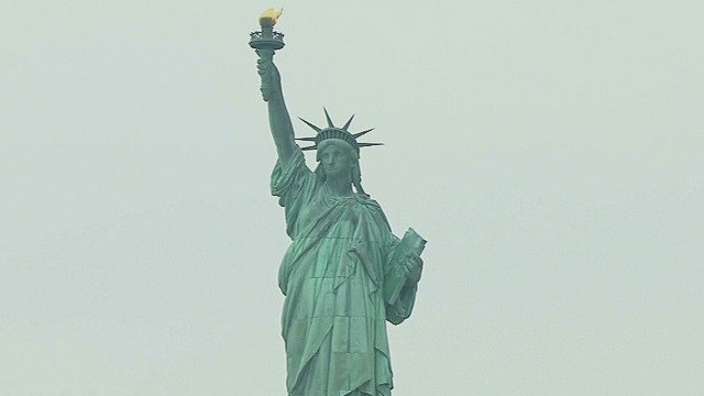 The Statue of Liberty has enough infrastructure damage to remain closed.