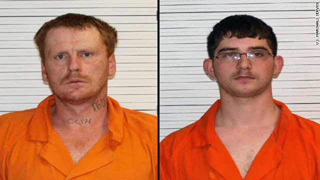 David Jason Jenkins, left, and Anthony Ray Jenkins, right, were convicted of kidnapping a gay man in Kentucky.