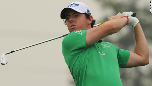 Northern Ireland's Rory McIlroy was named as the PGA Tour Player of the Year for 2012 after a stellar season.