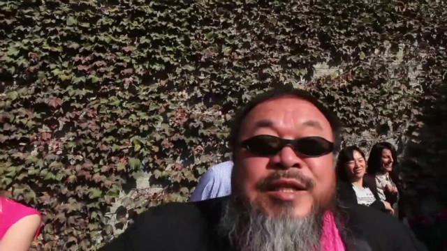 Dissident artist goes 'Gangnam Style'