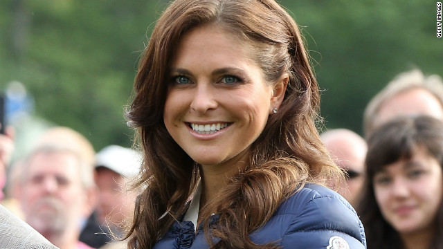 Princess Madeleine pictured on July 14, 2012 in Borgholm, Sweden.