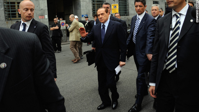 Berlusconi sentenced to prison