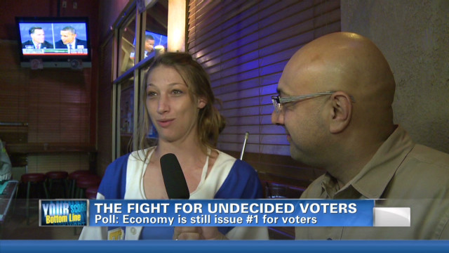 Candidates court undecided voters