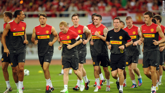 Manchester United's $64 million training kit sponsorship deal with DHL was agreed in 2010.