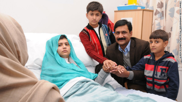 Minister: Malala is 'pride of Pakistan'