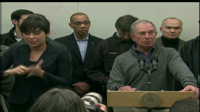 Bloomberg announces evacuation