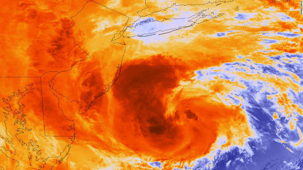 Hurricane Sandy, a Category 2 storm, formed on October 22, 2012, and dissipated on October 29. The hurricane's path went through Haiti, Jamaica, Cuba and the coastlines of New Jersey and New York. It caused $50 billion in preliminary damages and at least 165 deaths.