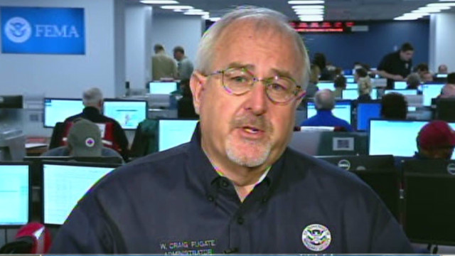 FEMA director: 'Stay inside'