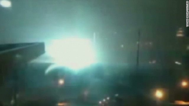 Transformer explodes in lower Manhattan