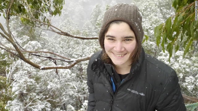 Environmental activist Miranda Gibson