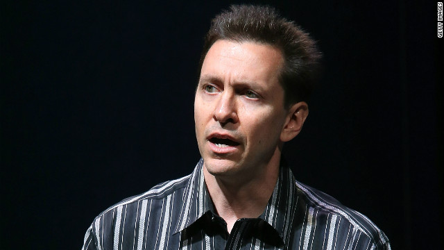 Former Apple exec Scott Forstall at the unveiling of the iPhone 5 in September.
