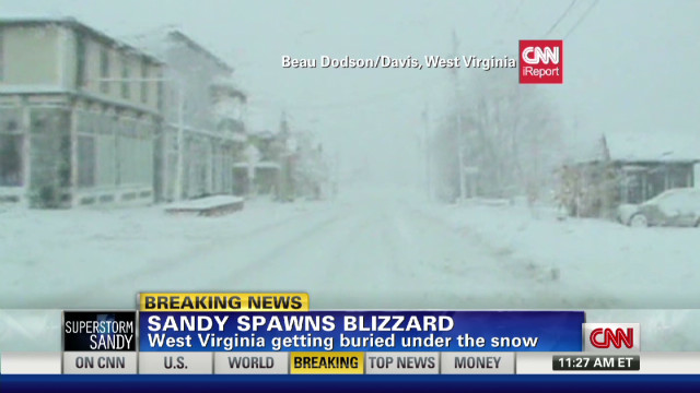 exp Sandy spawns blizzard in West Virginia_00002001