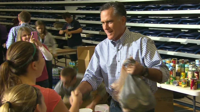 Romney: A tiny effort makes a difference