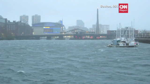 iReporters share Hurricane Sandy images