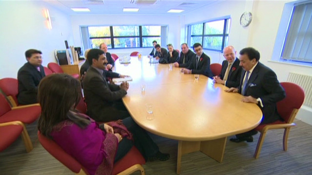 UK politicians meet Malala's family