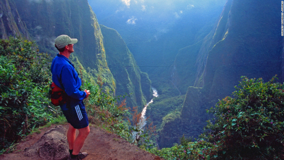 For a traveler with a fear of heights, the Inca Trail to Machu Picchu serves up some dizzying vistas -- and drops.