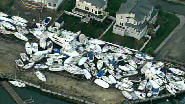 Choppers captures damage on Jersey coast