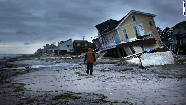 Sandy devastated millions of residents in the eastern U.S., including New York's Rockaway neighborhood.
