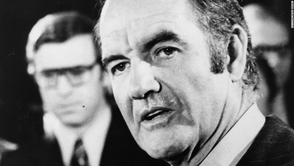 In 1972, George McGovern lost his birth and home state of South Dakota to incumbent Richard Nixon.