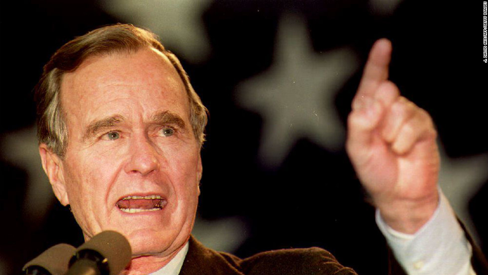In 1992, President George H.W. Bush won his home state of Texas and lost his birth state of Massachusetts in his losing campaign against Democratic nominee Bill Clinton.