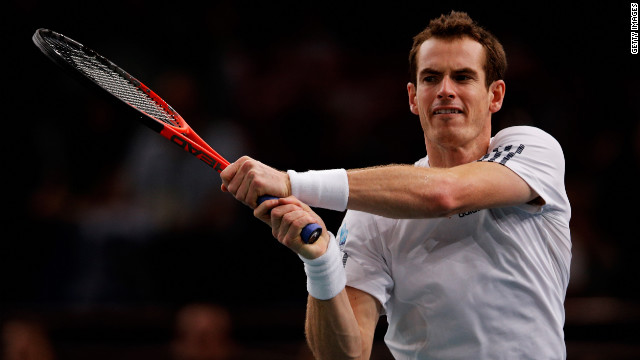 Andy Murray crashed out of the Paris Masters after suffering a shock defeat by Poland's  World. No. 69 Jerzy Janowicz.