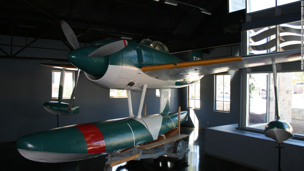 The museum boasts the only restored WWII Japanese rex plane -- also called a Japanese float plane -- currenly on display in the U.S. According to the museum, these aircraft were designed to support offensive operations in advance of available airstrips.