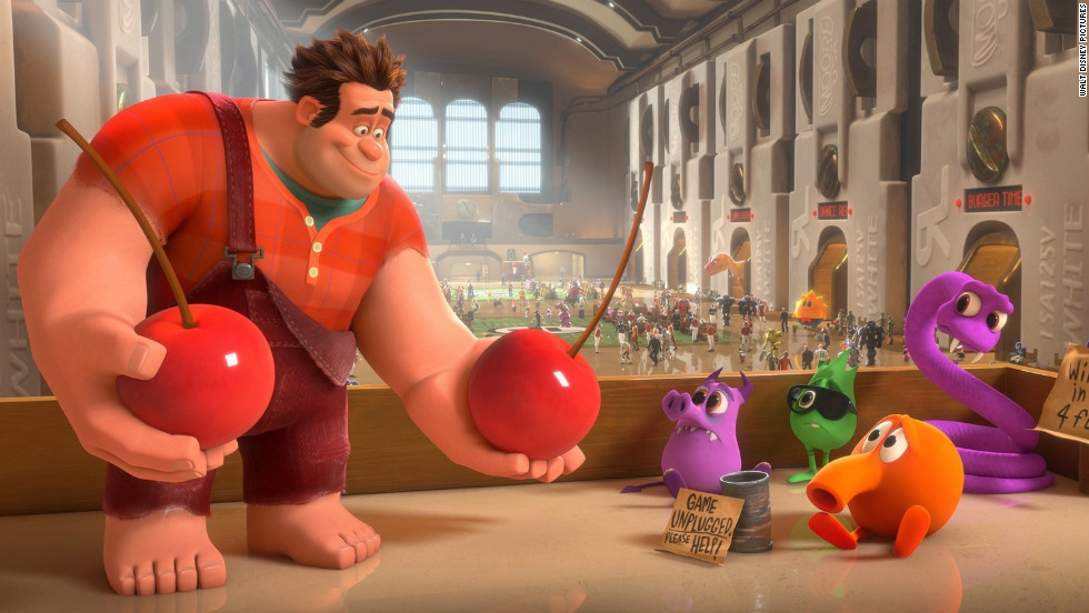 """Wreck-It Ralph""; ""Brave""; ""Frankenweenie""; ""ParaNorman""; ""The Pirates! Band of Misfits"""
