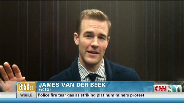 Best Advice: James van der Beek