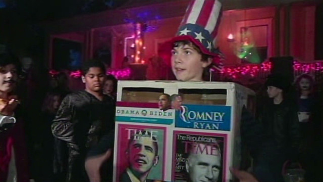 Costume doubles as election predictor