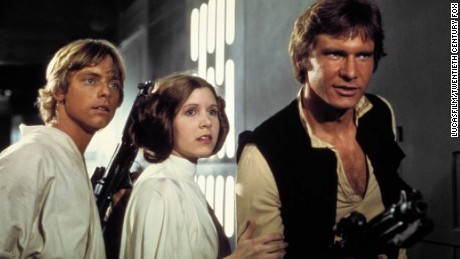 The nostalgia 'Force' is strong with 'Star Wars' fans